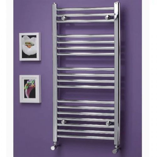 Kartell K Rail Premium Straight Towel Rail - 400mm x 750mm - Chrome